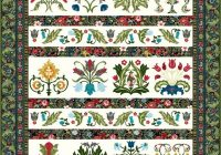common threads quilting william may sampler quilt Cool William Morris Quilt Patterns Inspirations