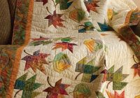 Cool 10 favorite quilts for fall and halloween quilting daily 9 Interesting Falling Leaves Quilt Pattern Gallery