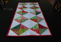 Cool 10 free table runner quilt patterns youll love 10 Stylish Easy Quilted Table Runner Patterns Inspirations