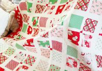 Cool 11 favorite christmas quilts to make love a quilting life 11 Unique Christmas Quilt Ideas Gallery