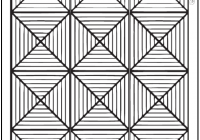 Cool 22 incredible pattern coloring pages image ideas azspring 9 Stylish Geometric Quilt Patterns Printable