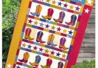 Cool boot n skoot pdf quilt pattern quilt patterns pdf 10 Modern Cowboy Boot Quilt Pattern Inspirations