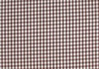 Cool brown white fabric gingham check checks cotton quilting weight 65 x 45 10 Stylish Gingham Quilting Fabric Inspirations