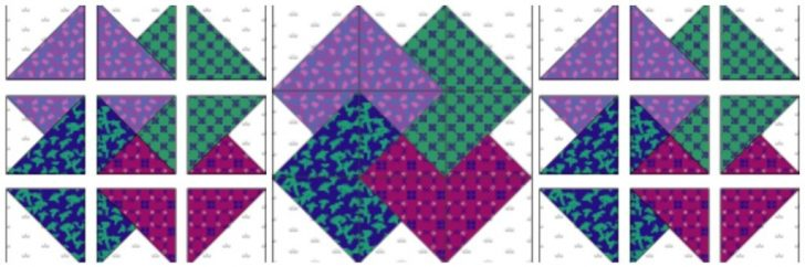 Permalink to 10 Elegant Card Trick Quilt Block Pattern Gallery
