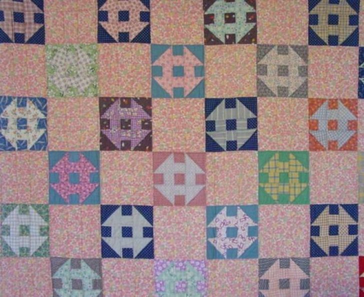 Permalink to 10 Beautiful Vintage Churn Dash Quilt Pattern Inspirations
