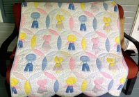 Cool crib size vintage dutch boy and girl quilt girls quilts 11 Beautiful Duch Doy Or Girl Quilt Pattern