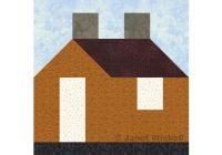 Cool easy 12 house quilt block pattern 9 Unique House Quilt Block Patterns