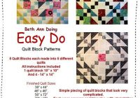 Cool easy do quilt patternsinstructions for five complete quilts 10 New Take 5 Quilt Pattern Instructions Inspirations