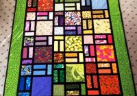 Cool easy stained glass pam yeomans quilting pattern 11 Stylish Stained Glass Quilting Patterns Inspirations