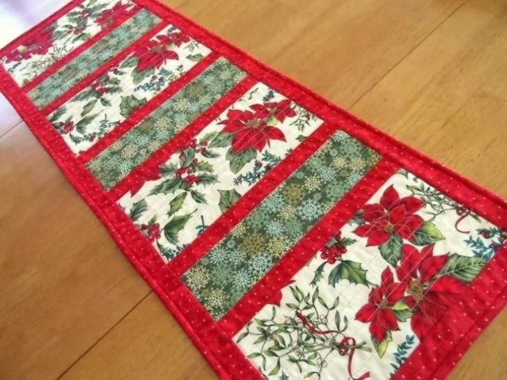 Permalink to 10 Modern Easy Table Runner Quilt Patterns