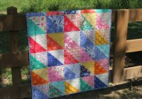 Cool fat eighth frenzy pattern the cottage mama 9 Modern Quilt Patterns Using Fat Eighths