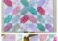 Cool fat quarter fancy free quilt pattern using 9 fat quarters 11 Interesting Fat Quarter Quilts Patterns
