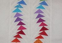 Cool flying wonky geese finished 1 flying geese quilt paper 11 Modern Flying Geese Quilt Patterns
