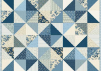 Cool free pattern blue sky stargazer quilt andover and 9 Modern Laundry Basket Quilt Patterns Inspirations