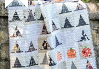 Cool halloween haberdashery witchs hat quilt patttern polka 11 Cool The Witch Is In Quilt Pattern Inspirations