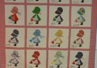 Cool holly hobbie a finished quilt 30 years in the making and New Holly Hobbie Quilt Pattern Inspirations