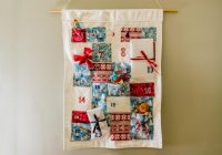 Cool how to make a homemade fabric advent calendar diy network 9 Cool Quilted Advent Calendar Pattern Inspirations
