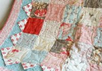 Cool how to slip stitch quilt binding the right way joyous home 9 Cool Sewing A Binding On A Quilt Gallery