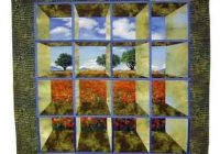 Cool i have a collection of batik fabrics from alaska the attic 11 Stylish Attic Window Quilt Patterns