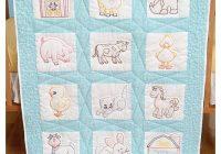 Cool jack dempsey stamped white nursery quilt blocks 9×9 12pkg barnyard friends 9 Elegant Jack Dempsey Quilt Blocks Gallery