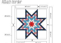 Cool jellied lone star quilt modafabrics 9 Beautiful Lone Star Quilt Pattern Free Gallery