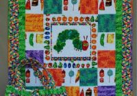 Cool katie leahy we can make this or design your own quilts 11 Beautiful Very Hungry Caterpillar Quilt Pattern Gallery