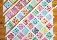 Cool lattice ba quilt tutorial quilting tutorials diary of New Patchwork Baby Quilt Pattern Inspirations