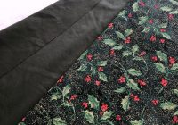 Cool lilacs lace 2019 Unique New Pre Quilted Christmas Fabric Gallery
