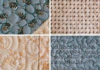 Cool machine quilting for the first time part 5 free motion 11   Machine Quilting Quilting Pattern Inspirations