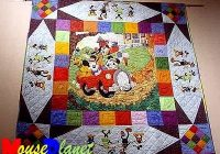 Cool mickey mouse quilt pattern disneyana convention 2001 9 Cool Mickey Mouse Quilt Pattern