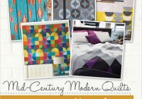 Cool mid century modern quilts pattern collection Modern Vintage Modern Quilts Inspirations
