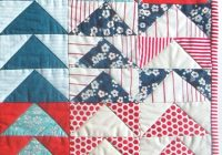 Cool mini quilt of the month july flying geese purl soho Stylish Quilting Flying Geese Pattern