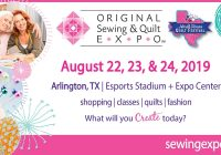 Cool original sewing quilt expo and north texas quilt festival 10 Modern Sewing & Quilt Expo