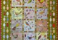 Cool paradise of birds irene blanck Modern Bird Of Paradise Quilt Pattern Inspirations