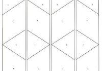 Cool picasa web albums tumbling blocks 11 Elegant Tumbling Blocks Quilt Pattern Template Gallery