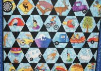 Cool pin on kid stuff 9   I Spy Quilt Pattern Hexagon Inspirations