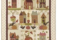 Cool product details house quilt patterns fall quilts 10 Interesting Bunny Hill Quilt Patterns Inspirations