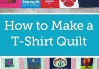 Cool quick and easy t shirt quilt tutorial tshirt quilt pattern 9 Modern T Shirt Quilt Pattern Easy Gallery