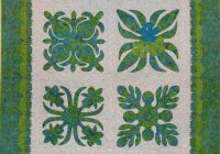 Cool quilt inspiration hawaiian quilts 11 New Hawaiian Applique Quilt Patterns