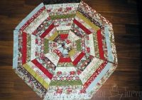 Cool quilted ruffled tree skirt ashlee marie christmas tree Cozy Quilted Tree Skirt Pattern Inspirations