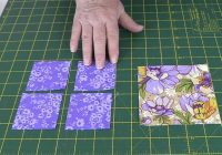 Cool quilting blocks square in a square quilt block tutorial 11 Stylish Square In A Square Quilt Block Pattern Gallery