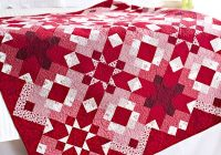 Cool quilting color trend red allpeoplequilt 9 Beautiful Elegant Solid Color Quilting Fabric Inspiration Gallery