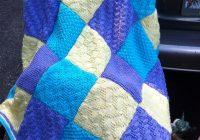 Cool ravelry 16 patchwork blanket pattern sandi prosser 11 Stylish Patchwork Quilt Knitting Pattern
