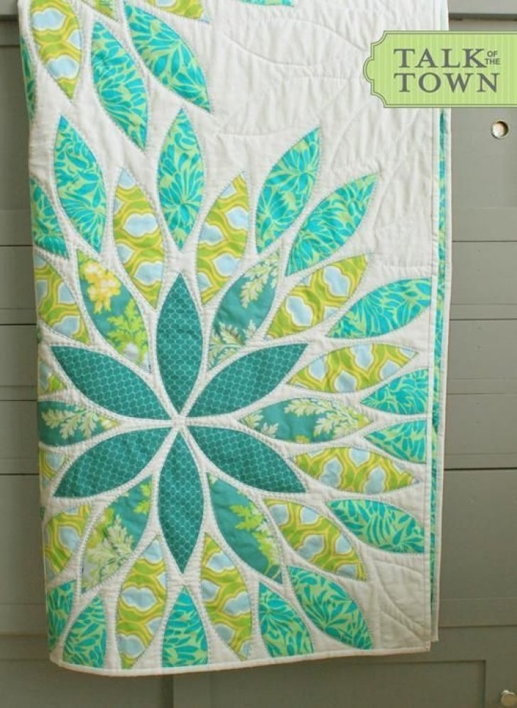 Permalink to 11 Stylish Easy Applique Quilt Patterns