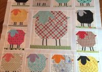 Cool sheep farm girl vintage quilt block pattern 138 9 Modern Pinterest Girl On Farm Quilt Gallery
