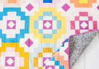 Cool southwest sunshine a new modern quilt pattern quilty love 9 Stylish Southwestern Quilt Patterns