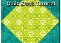 Cool square in a square quilt block 11 Unique Block In A Block Quilt Pattern