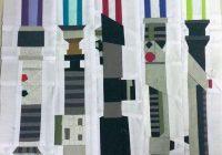 Cool star wars inspired design challenge star wars quilt 9   Unique Star Wars Quilting Fabric Inspiration Gallery
