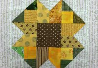 Cool sunflower quilt block pattern free on bluprint 9   Sunflower Quilt Block Pattern
