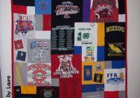 Cool t shirt quilti like the random pattern shirt quilt T Shirt Memory Quilt Pattern Gallery